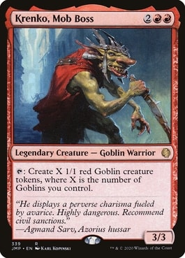 Krenko, Mob Boss Best Goblin Tribal Commanders