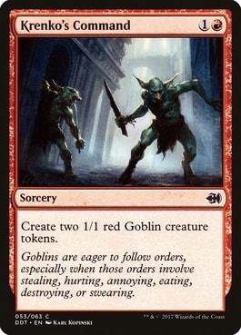 Krenko's Command Best MTG Goblin Tribal Cards