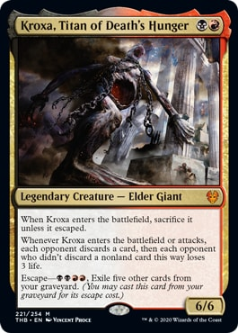 Kroxa, Titan of Death's Hunger Commander Year 2020 Review