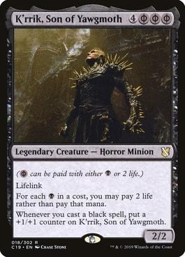 Krrik Son of Yawgmoth