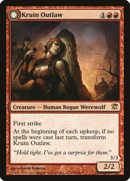 Kruin Outlaw Top 10 Best MTG Werewolves