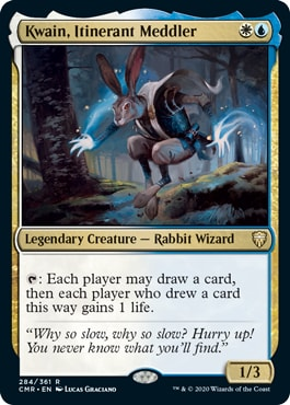 Kwain Itinerant Meddler Commander Legends All Cards