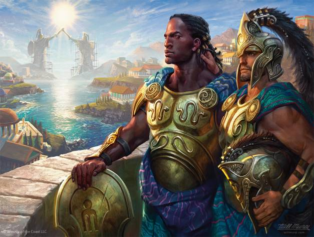 Kynaios and Tiro of Meletis Most Fun Commanders Banner