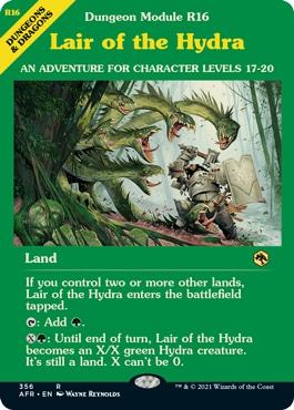 Lair of the Hydra Alternate Art