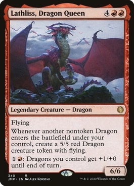 Lathlis Dragon Queen Best Cards for Dragon Deck MTG