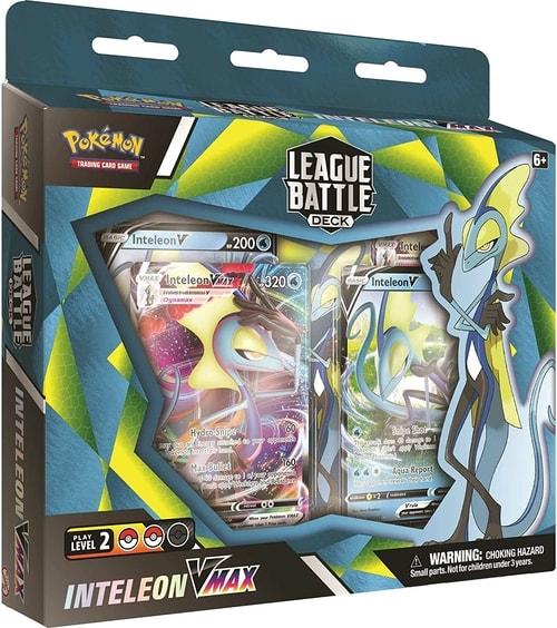 League Battle Deck Inteleon VMAX Pokemon Cards Gift Guide