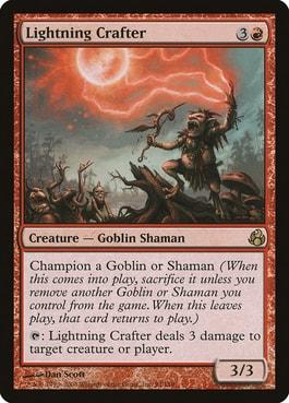 Lightning Crafter Best MTG Goblin Tribal Cards