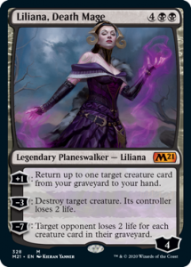 Liliana Death Mage Planeswalker Decks Core 2021 Upgrade Guide
