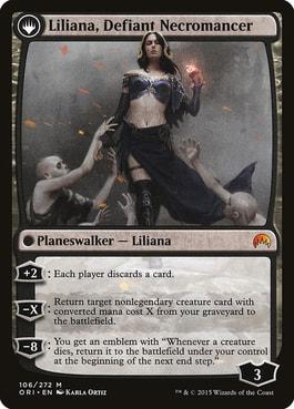 Liliana Defiant Necromancer