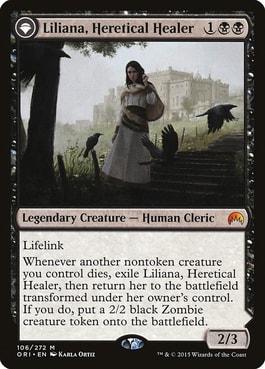Liliana Heretical Healer Best Commanders for Zombie Tribal MTG