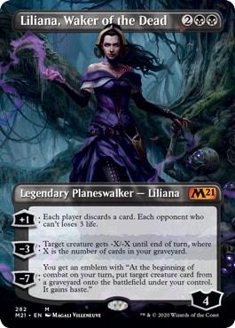 Liliana Waker of the Dead Borderless