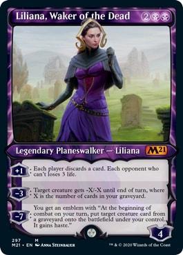 Liliana Waker of the Dead Showcase Variant