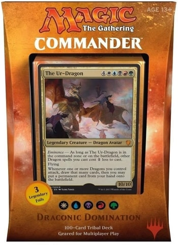 List of All Commander Precons 2017 Draconic Domination Dragon Tribal