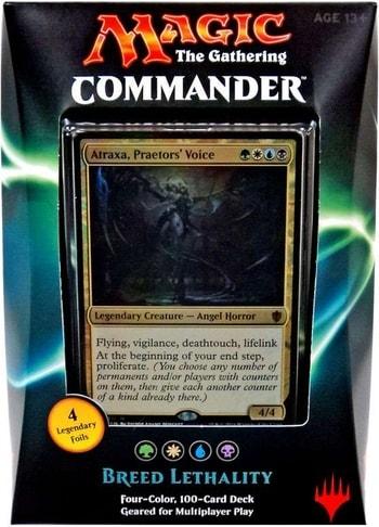 List of All Commander Precons Breed Lethality 2016 Atraxa