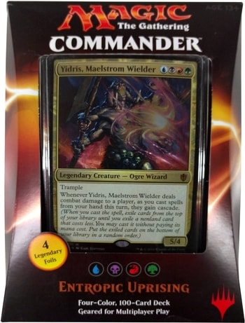 List of All Commander Precons Entropic Uprising 2016