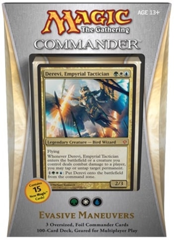 List of All Commander Precons Evasive Maneuvers