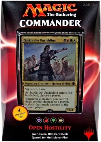 List of All Commander Precons Open Hostility 2016