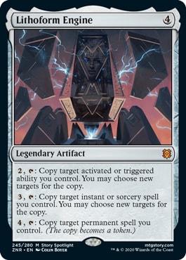 Lithoform Engine Best Commander Card Zendikar Rising