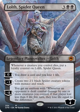 Lolth, Spider Queen Forgotten Realms Collector Booster Style