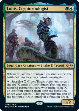 Lonis, Cryptozoologist Best Commanders from Modern Horizons 2