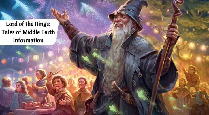 Lord of the Rings LoTR MTG Set Tales of Middle-Earth Banner