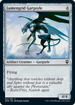 Lumengrid Gargoyle Commander Legends