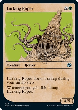 Lurking Roper MTG DND Rulebook Cards