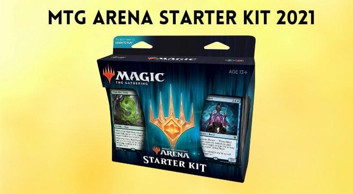 MTG Arena Starter Kit 2021 Contents Banner