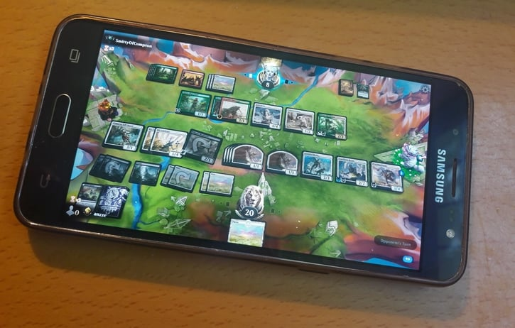 MTG Arena on Mobile Release Date Sample Screen Android IOS