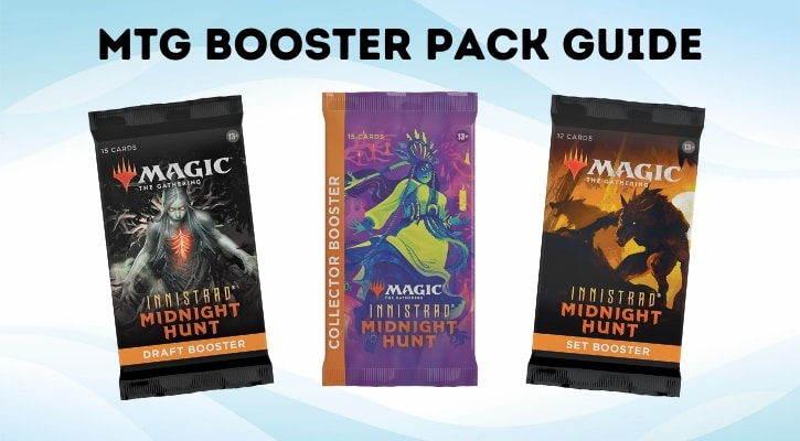 MTG Booster Pack Guide Banner 2021 Which Booster to Buy