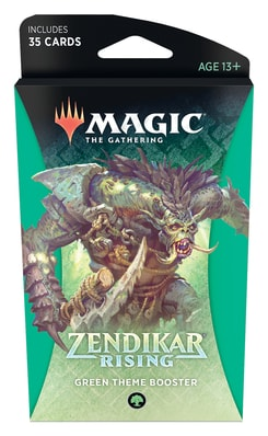 MTG Booster Pack Guide Theme Booster Zendikar Rising Green