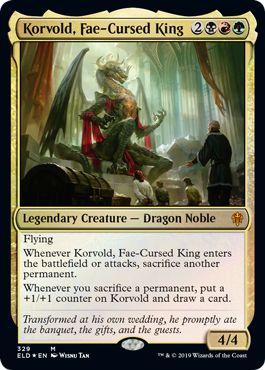 MTG Korvold Fae Cursed King