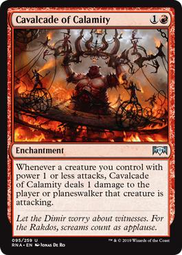MTG Cavalcade of Calamity deck