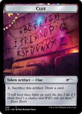 MTG Clue Token Stranger Things