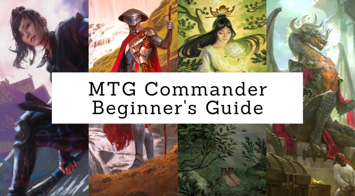 MTG Commander Beginners Guide Banner