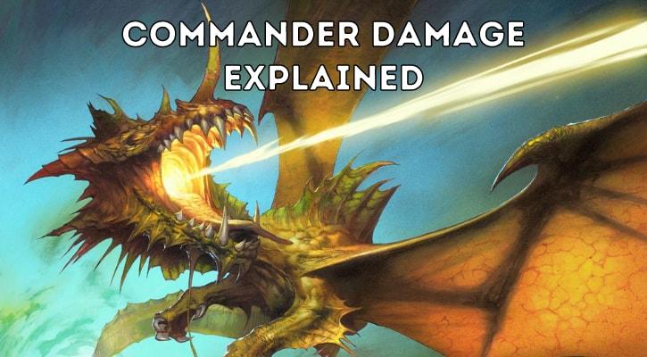 MTG Commander Damage Explained Banner