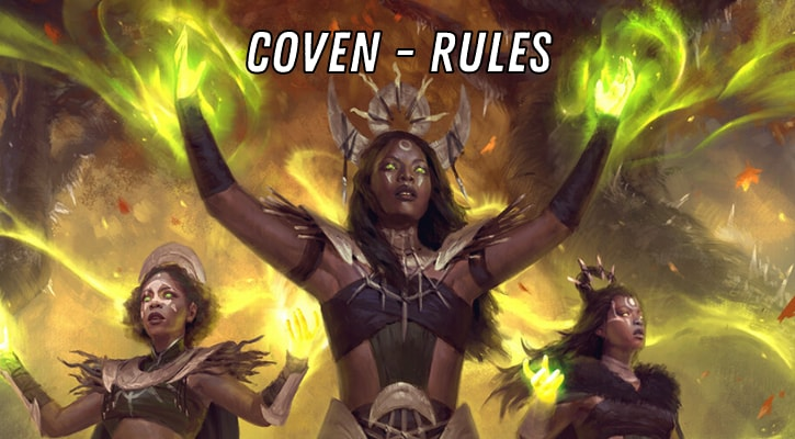 MTG Coven Rules Explained Banner