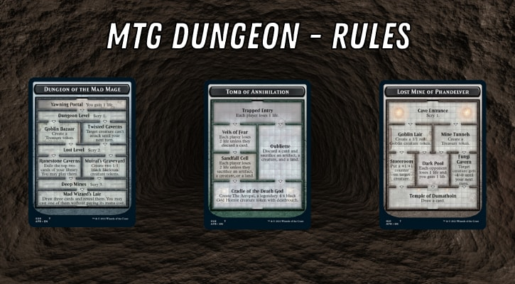 MTG Dungeon Rules Venture Explained Banner