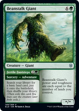 MTG-Eldraine-Beanstalk-Giant