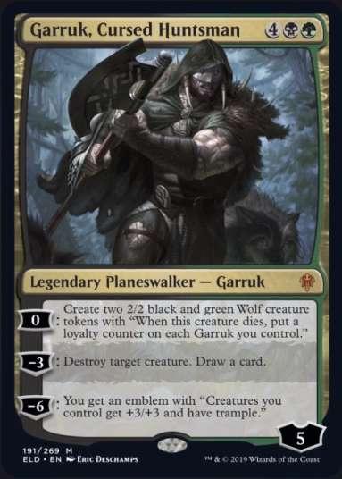 MTG-Eldraine-Garruk-Cursed-Huntsman