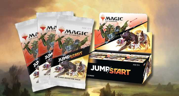MTG Jumpstart Booster Explained Banner