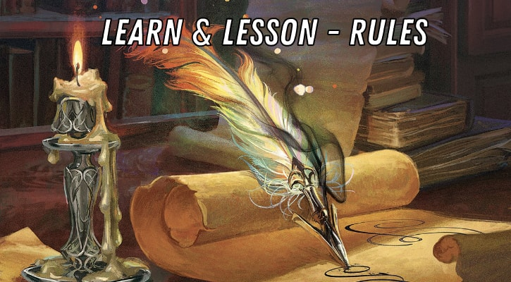 MTG Learn Lesson Rules Explained Banner