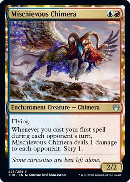 MTG Mischievous Chimera.png