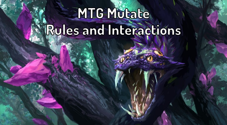 MTG Mutate Rules and Interactions Explained Banner