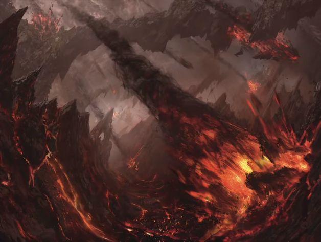 MTG New Art Explosion Zendikar Rising