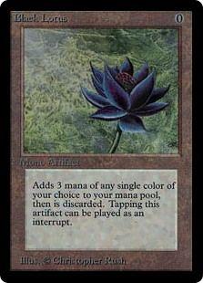 MTG Reserved List Power Nine Black Lotus
