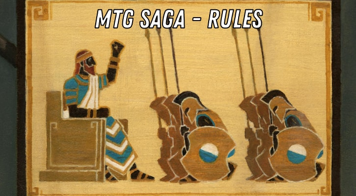 MTG Saga Rules Interactions Explained Banner