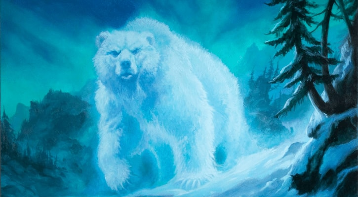 MTG Snow Mechanic Rules Spirit of the Aldergard Banner