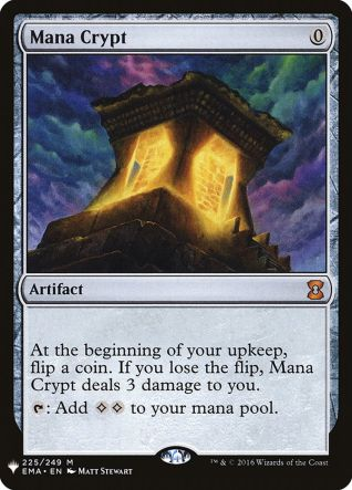 Mana Crypt Mystery Booster