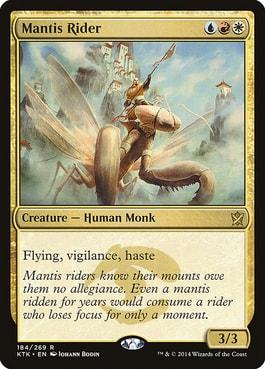 Mantis Rider Best MTG Humans